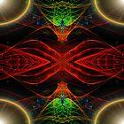 Disc Julian#6: Valley View 3D Symmetry  (UF0349)  by barrowda