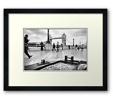My Small Town Blues.... Framed Print