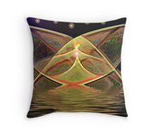 Aquarian Angle Throw Pillow