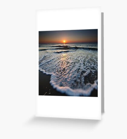 Playa sunrise  Greeting Card