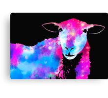 Cosmic Disco Sheep Canvas Print