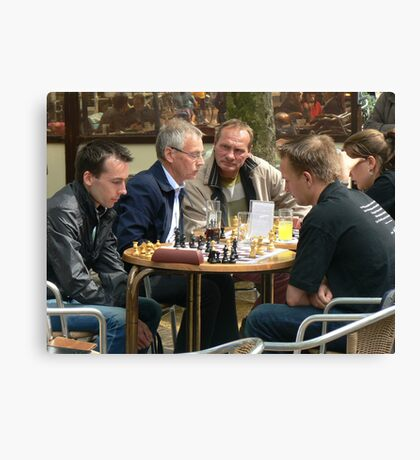 chess masters:)) Canvas Print