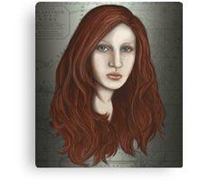 Mermaid portrait Canvas Print