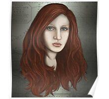 Mermaid portrait Poster