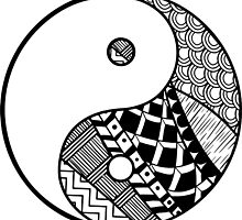 Yin Yang Decorative Design by alee7spain