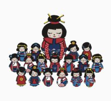 Kokeshi Dolls Kids Clothes