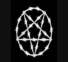 Barbwire Pentagram Unisex T-Shirt