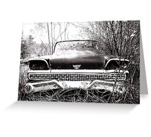 Found FORD   Greeting Card