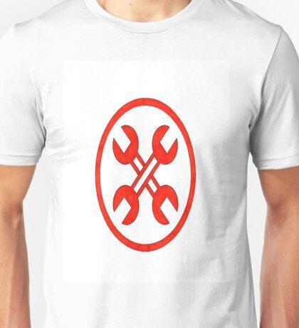 Wrench Cross Unisex T-Shirt