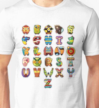 Super Alphabet Unisex T-Shirt