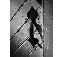 Thumb Latch Photographic Print