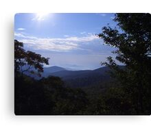 Magestic Mountains Canvas Print