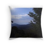 Magestic Mountains Throw Pillow