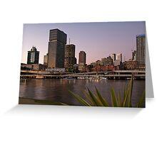 Brisbane - The River City Greeting Card