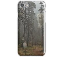 Mother is Watching Ghostly Photo iPhone Case/Skin