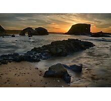 Sea Stack Sunset Photographic Print