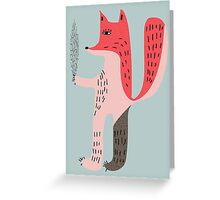 Creature Greeting Card