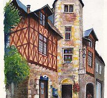 La Poste, Châteldon by Dai Wynn