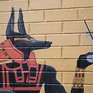 Drinks With Anubis by v-something