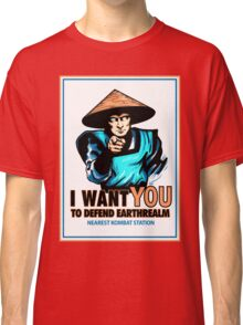 I Want YOU For Kombat Classic T-Shirt