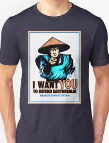 I Want YOU For Kombat Unisex T-Shirt
