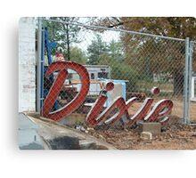Dixie Canvas Print