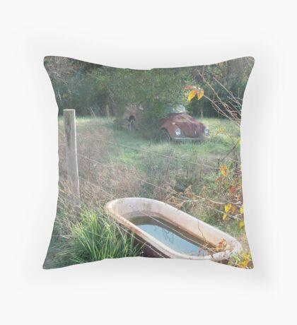 Bug , Bath & Beyond Throw Pillow
