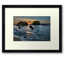 The Long Summer Sun Framed Print