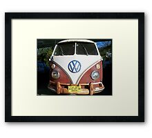 IF THE VAN IS A ROCKIN......... Framed Print