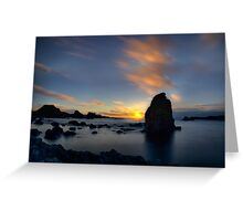 Silhouette Rocks Greeting Card