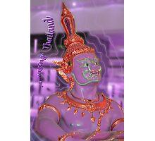 Amazingly purple Thailand Photographic Print