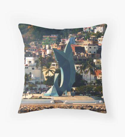 Sail fish Throw Pillow