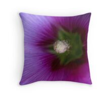 REDREAMING : Flower Series: Purple. Throw Pillow
