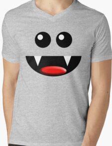 SMILE Mens V-Neck T-Shirt