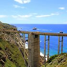 The Bixby Bridge in Big Sur, CA by Anthony Martinez