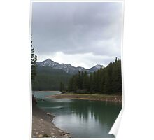 Chinook Lake in Spring Poster