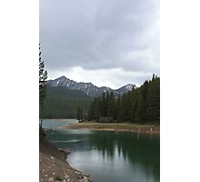 Chinook Lake in Spring Photographic Print