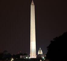 Washington Capitol by Chuck Chisler