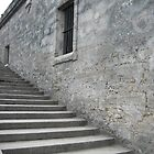 The Staircase, Part 2 - Castillo de San Marcos by Irina Gallagher