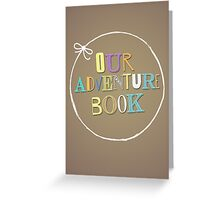 Adventure Book Greeting Card