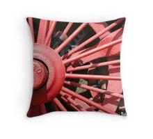 Wheel 1880 Throw Pillow