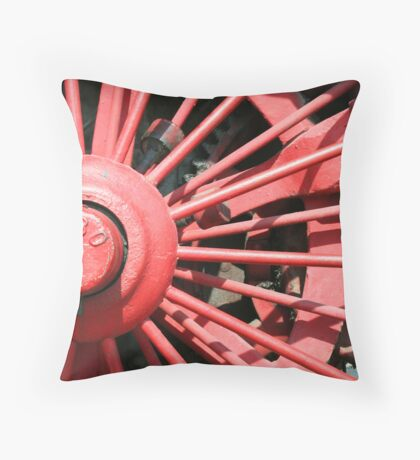 Wheel 1880 Throw Pillow