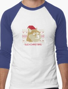 Such Christmas! Men's Baseball ¾ T-Shirt