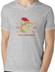 Such Christmas! Mens V-Neck T-Shirt