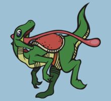 Dino Mount Kids Tee