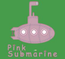 Pink submarine Kids Clothes