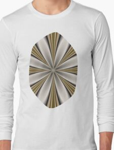 Fractal Flower in CMR 01 Long Sleeve T-Shirt