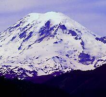 Mt. Rainier Panoramic in HDR by Tori Snow