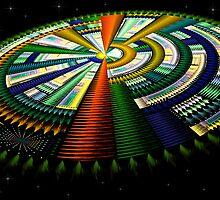Julian Spaceship by Pam Amos
