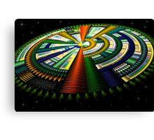 Julian Spaceship Canvas Print
